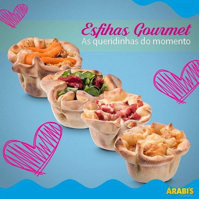 Esfiha Gourmet Top Recheio Salgado