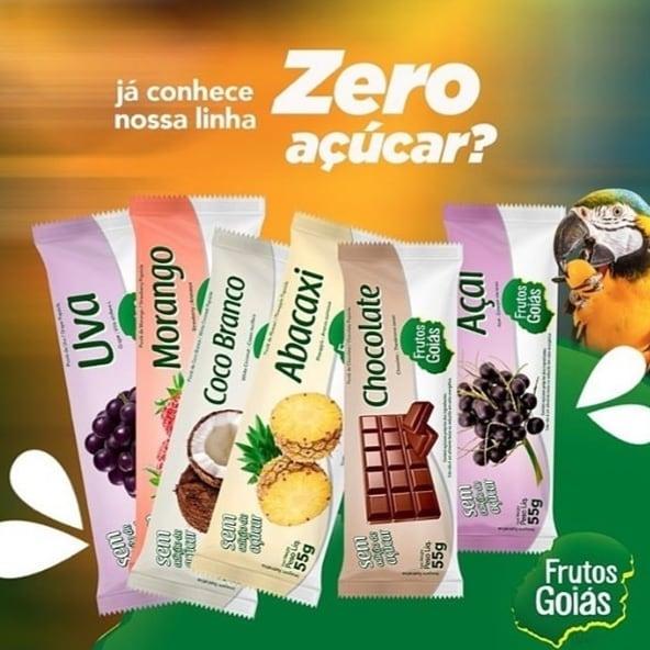 Picolés Zero Açucar