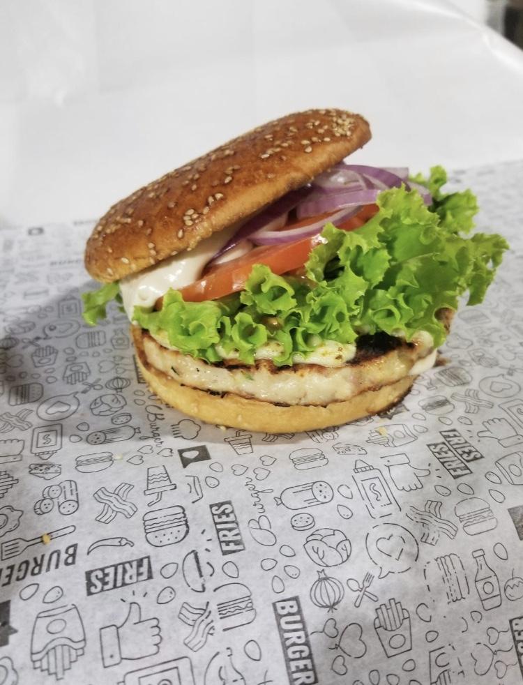Hambúrguer Frango