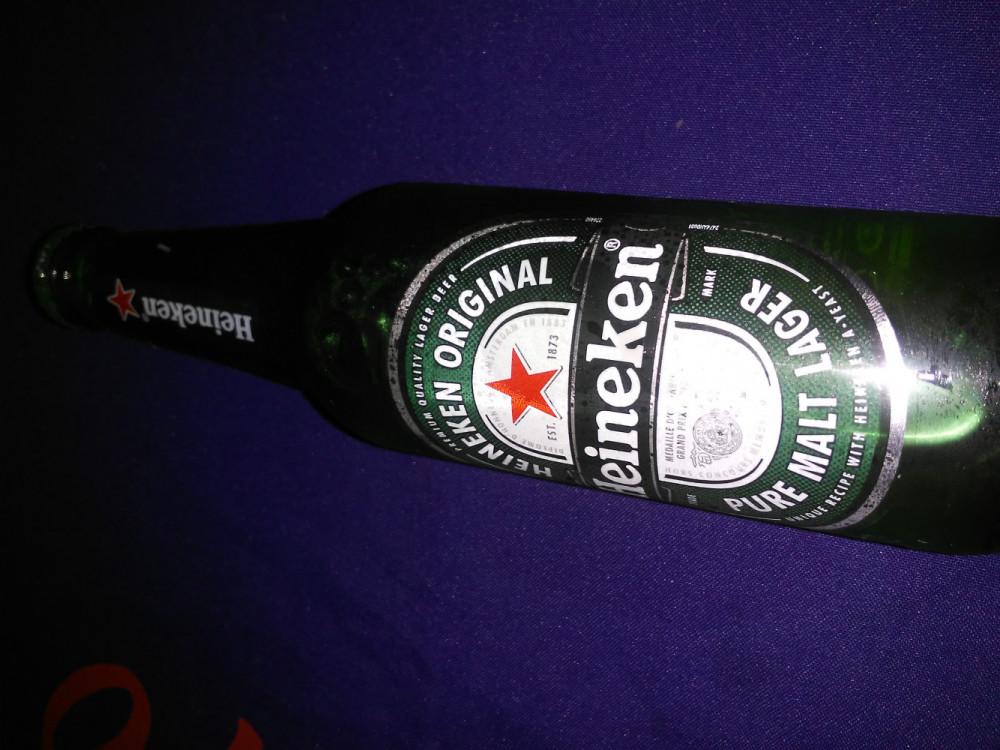 Cerveja heinecken long neck