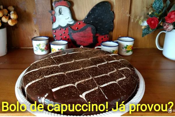 Bolo de Cappuccino