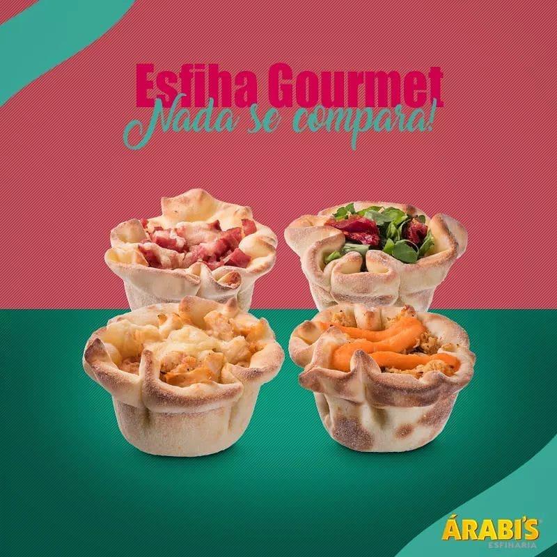 Esfiha Gourmet Premium Recheio Salgado