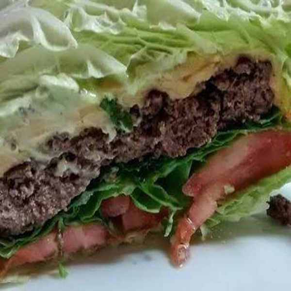 X Low Carb Hamburguer