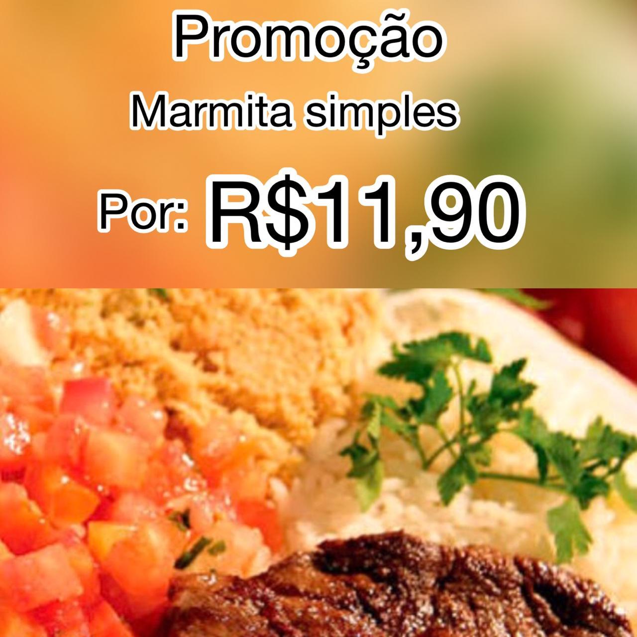 Marmita - Marmita simples